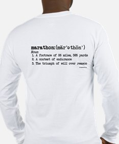 Marathon Definition Long Sleeve T-Shirt