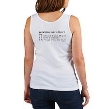 Marathon Definition Women's Tank Top