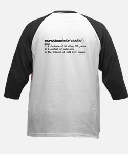 Marathon Definition Kids Baseball Jersey