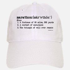 Marathon Definition Baseball Baseball Cap