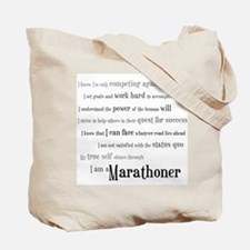 Marathon Definition Tote Bag