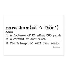 Marathon Definition Postcards (Package of 8)