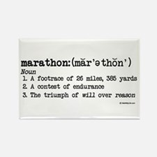 Marathon Definition Rectangle Magnet (10 pack)