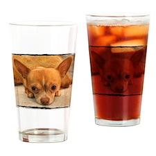 """Chihuahua"" Drinking Glass"