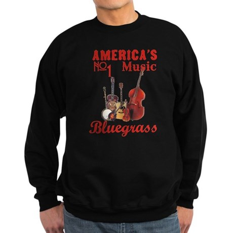 Bluegrass Music Sweatshirt (dark)