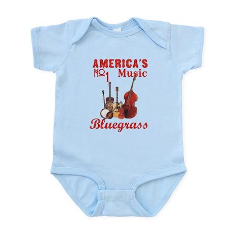 Bluegrass Music Infant Bodysuit