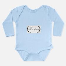 Bonjour Long Sleeve Infant Bodysuit