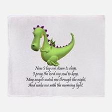 Cute Dragon kids Throw Blanket