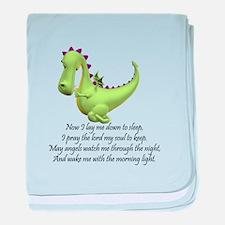 Funny Kids dragon baby blanket