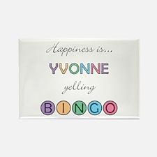 Yvonne BINGO Rectangle Magnet