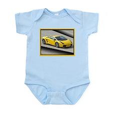 Yellow Gallardo Infant Bodysuit