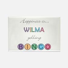 Wilma BINGO Rectangle Magnet