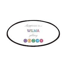 Wilma BINGO Patch