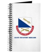 181st Infantry Brigade with Text Journal