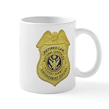 Retired Law Enforcement Mug