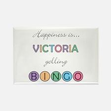 Victoria BINGO Rectangle Magnet