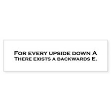 Funny Mathematics Theorm Bumper Sticker
