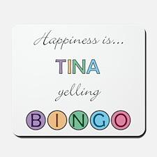 Tina BINGO Mousepad