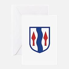 181st Infantry Brigade Greeting Card