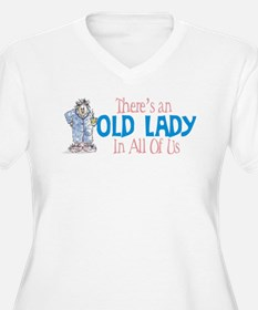 Old Lady Coffee T-Shirt