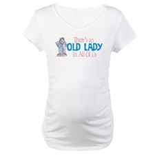 Old Lady Coffee Shirt