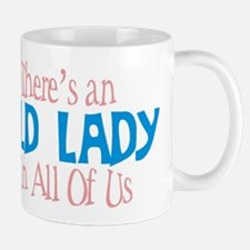 Old Lady Coffee Mug
