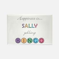 Sally BINGO Rectangle Magnet