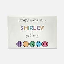 Shirley BINGO Rectangle Magnet