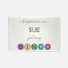 Sue BINGO Rectangle Magnet