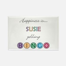 Susie BINGO Rectangle Magnet