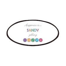 Sandy BINGO Patch