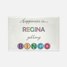 Regina BINGO Rectangle Magnet