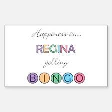 Regina BINGO Rectangle Decal
