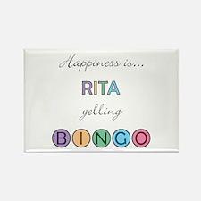 Rita BINGO Rectangle Magnet