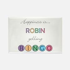 Robin BINGO Rectangle Magnet