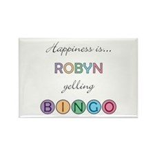Robyn BINGO Rectangle Magnet