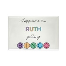 Ruth BINGO Rectangle Magnet