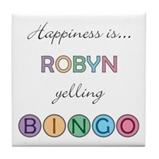 Robyn BINGO Tile Coaster