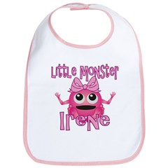Little Monster Irene Bib