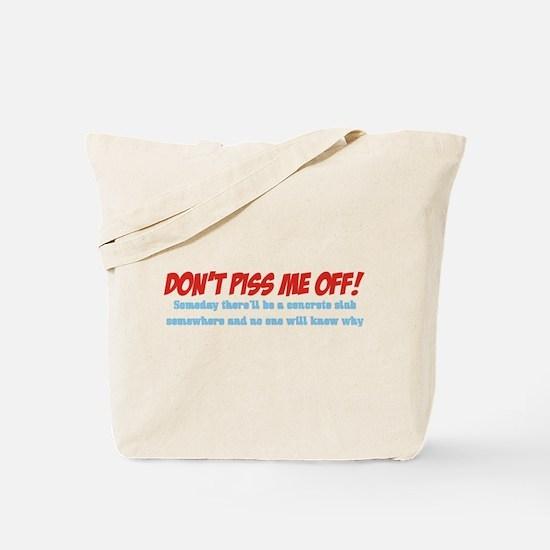 Concrete Slab Tote Bag