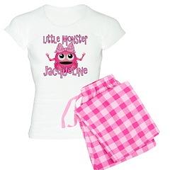 Little Monster Jacqueline Pajamas