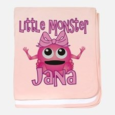 Little Monster Jana baby blanket
