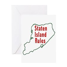 Staten Island Rules Greeting Card