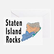 Staten Island Rocks Greeting Card