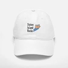 Staten Island Rocks Baseball Baseball Cap