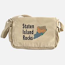Staten Island Rocks Messenger Bag