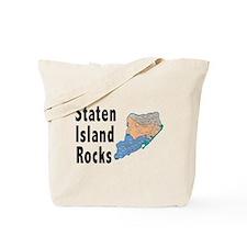 Staten Island Rocks Tote Bag