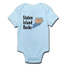 Staten Island Rocks Infant Bodysuit