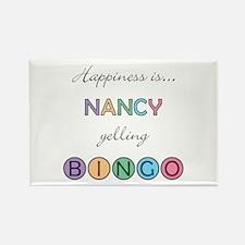 Nancy BINGO Rectangle Magnet