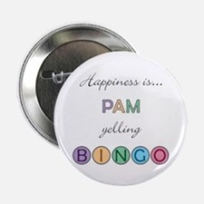 Pam BINGO Button
